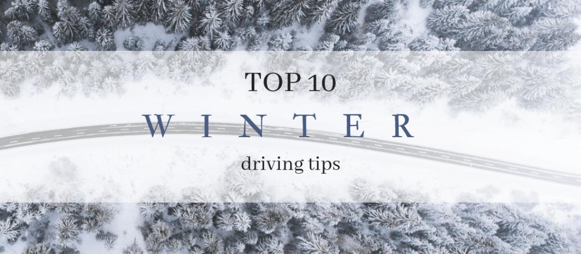 winter driving - instagram